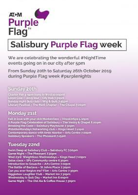 Salisbury seeks prestigious Purple Flag status