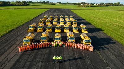 New fleet of gritters ready to keep Wiltshire moving this winter