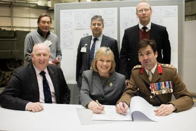 Military covenant signing