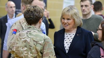 Wiltshire's close partnership with the Army recognised in national report