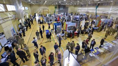 Job fair helps service personnel plan the next steps after a military career