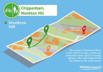 Chippenham - Monkton Hill cycling scheme