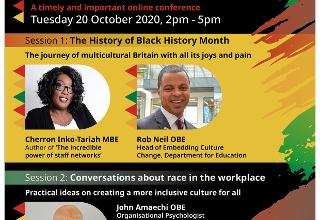Wiltshire marks Black History Month with its first partnership conference