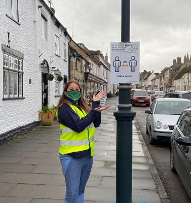 Photo of #WiltshireTogether Champion in Cricklade