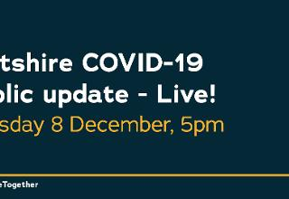 People encouraged to tune in and watch Wiltshire Council's latest COVID-19 update on 8 December