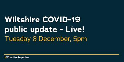 Social media graphic of date of COVID-19 public update