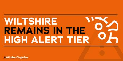 Wiltshire Council specific high alert graphic