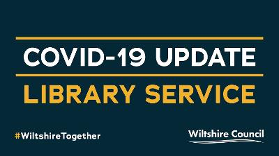 COVID-19 update: Library service graphic