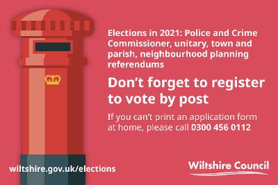 Picture of post box and messaging