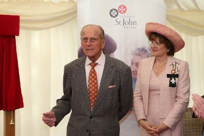 Photograph of Lord Lieutenant with HRH Prince Philip