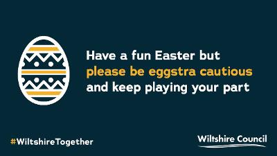 Easter graphic #WiltshireTogether
